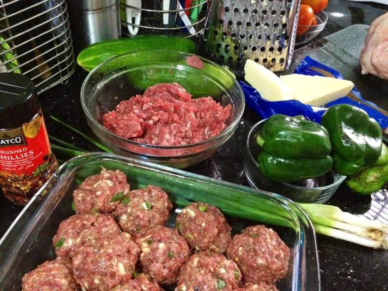 Meatballs ready fro cooking
