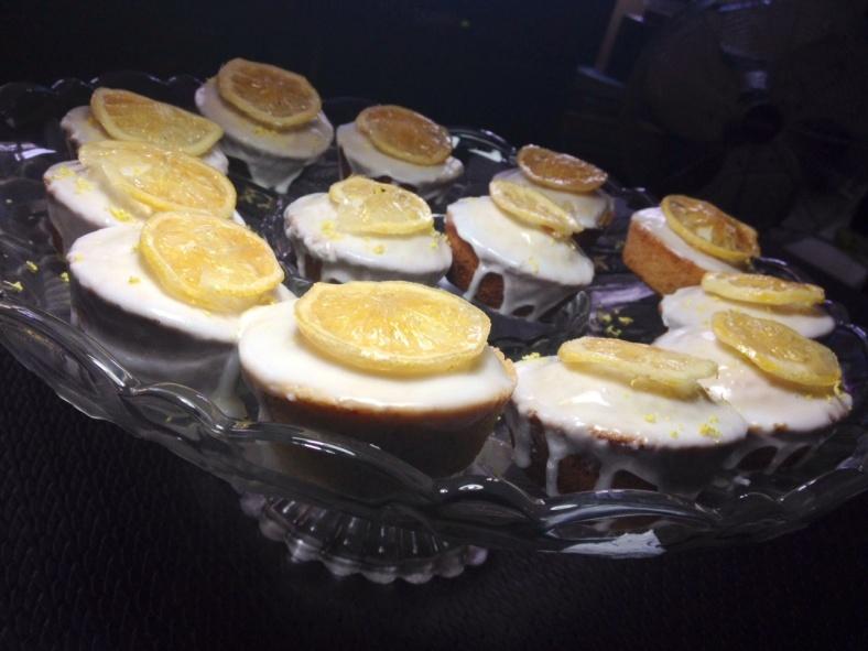 lemon friands
