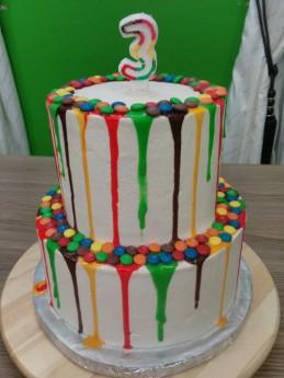 3 cake