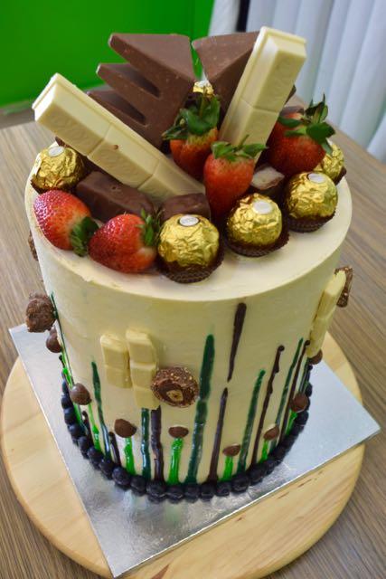Femi's 2016 bday cake