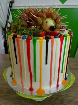 Hedehog cake