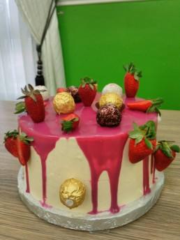 rafello pink cake