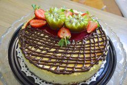 Ying yang cheese cake