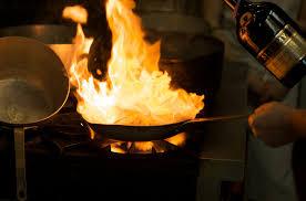 Hells Kitchen Fire Pan