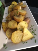 Pan roasted potatoes
